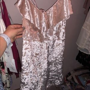 Urban Outfitters Shiny Pink Romper